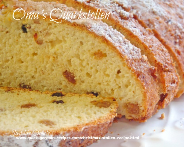 German Quark Stollen
