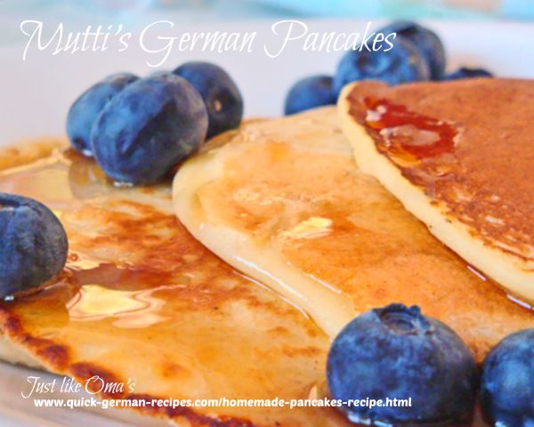 Homemade German Pancakes
