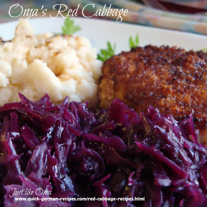 Red Cabbage with breaded pork chops and mashed potatoes