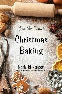 Oma's Christmas Baking eCookbook