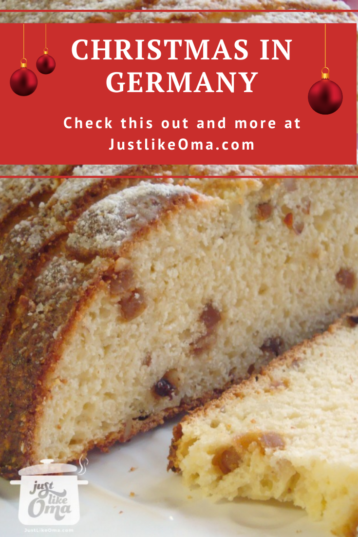 Christmas Stollen! The most popular holiday dessert in Germany. Tasty!
