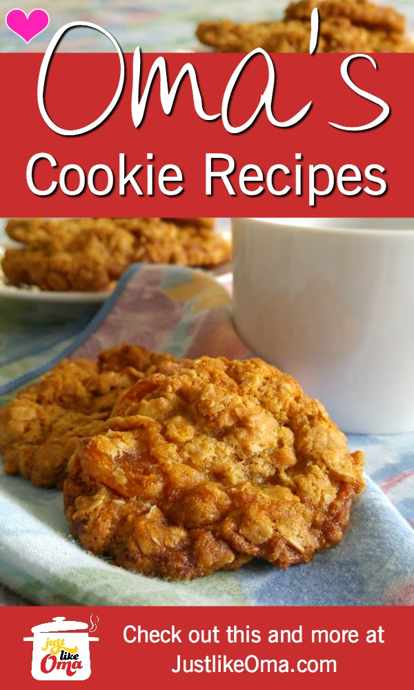 So many cookie recipes to try, made just like Oma ❤️ #cookierecipes #germanrecipes #justlikeoma #germancookies Check out: https://www.quick-german-recipes.com/simple-cookie-recipes.html