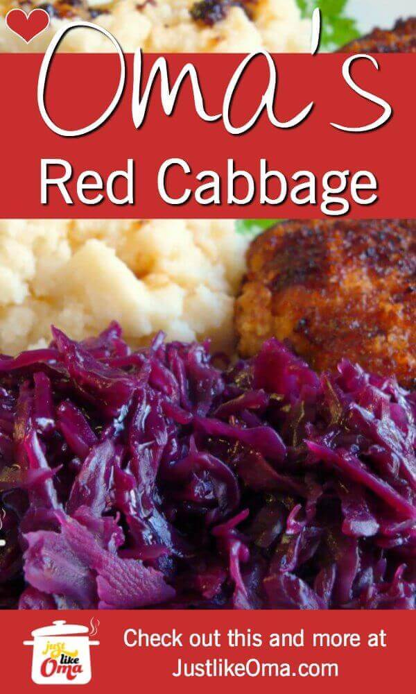 ❤️ German red cabbage is such a traditional side dish. https://www.quick-german-recipes.com/red-cabbage-recipes.html  #germanrecipes #justlikeoma #redcabbage
