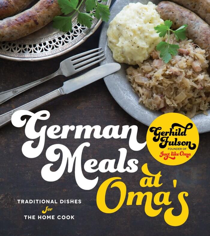 German Meals at Oma's paperback cookbook