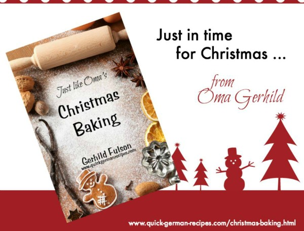 Relive your German Christmas memories with these wunderbar recipes from Oma Gerhild ❤️ Check  it out at https://justlikeoma.store/product/christmas-baking/