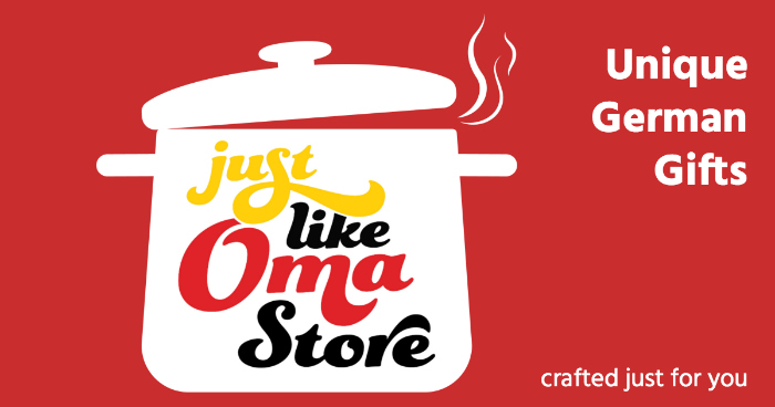 Check out Oma's new Online Store filled with unique German Gifts, crafted just for you!
