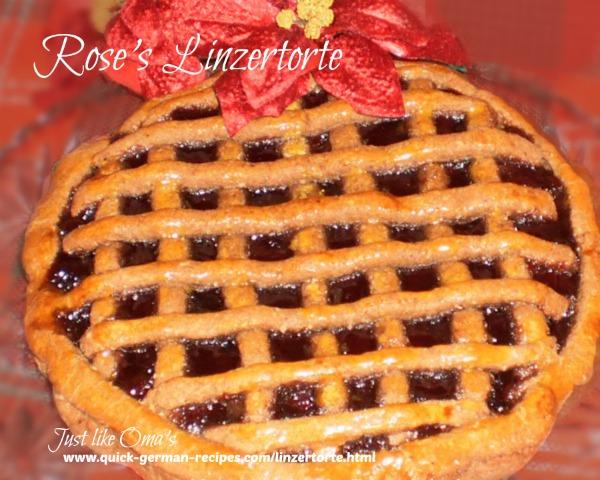 German Cake Recipes: Linzertorte