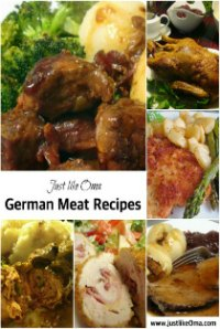 Oma's German Meat Recipes eCookbook