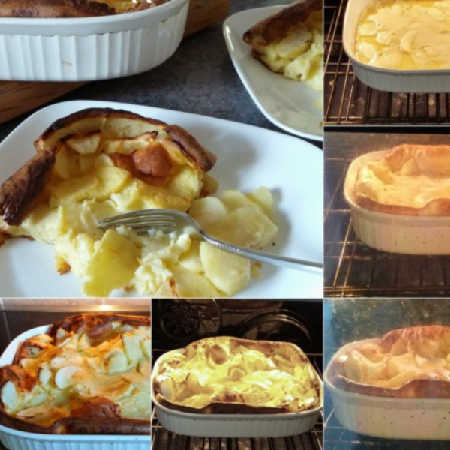 German Apple Pancake, so simple to make in your oven!