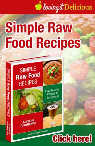 Simple raw food recipes