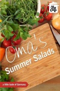 Oma's Summer Salads eCookbook
