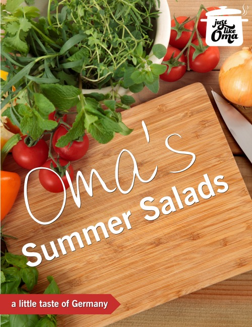 Ready for some REAL summer food? Check out Oma's new collection of her favorite salads: http://www.quick-german-recipes.com/summer-salads.html