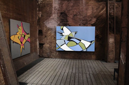 The great Urban Art Biennial! Located in the Völklingen Ironworks, it's a beautiful and fascinating tourist attraction.