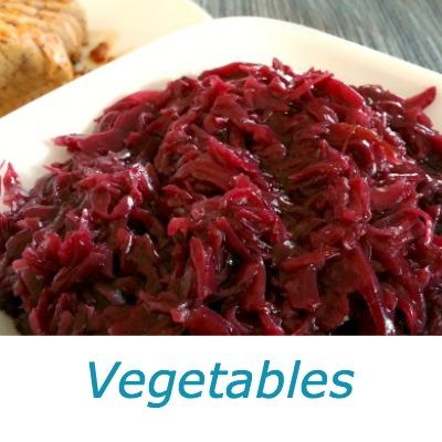 German Vegetable Recipes