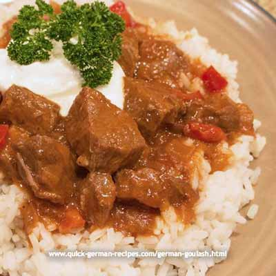 Goulash - Anna's Slow Cooker version - Wunderbar!