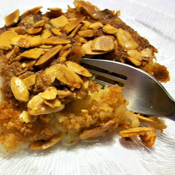 Apple Dump Cake made Just like Oma