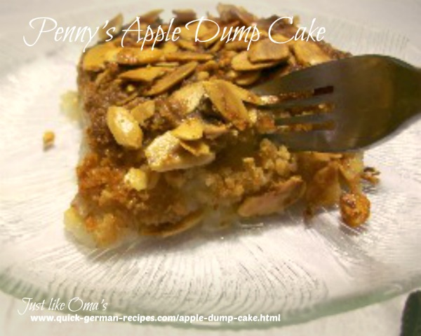 Quick Cake Recipes: Apple Dump Cake