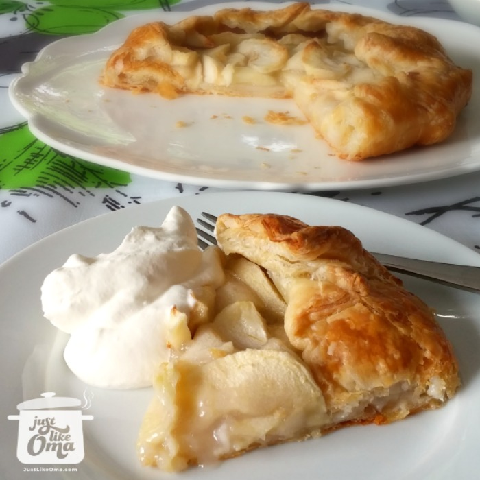 German Apple Strudel Recipe Made Just Like Oma