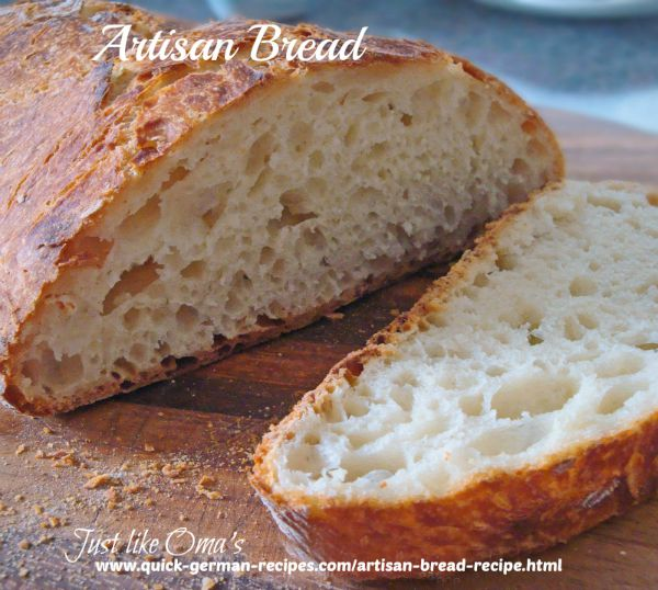 German Artisan Bread