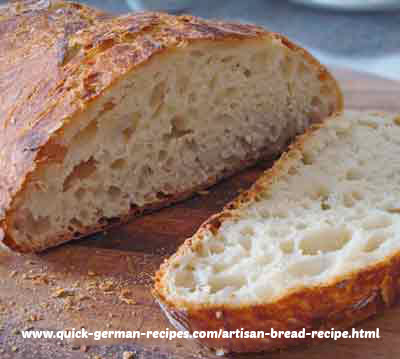 German Bread Recipes: artisan bread