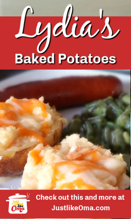 ❤️ Twice Baked Potatoes make an amazing side dish to almost any meal. So easy to make