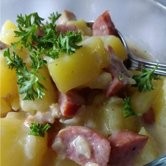 Bechamel Potatoes