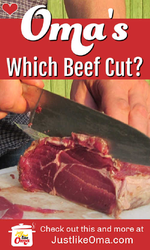 ❤️ Ever wonder which beef cuts to use for your recipe? Here you'll find your answer! https://www.quick-german-recipes.com/beef-cuts.html #beefcuts #germanrecipe #justlikeoma