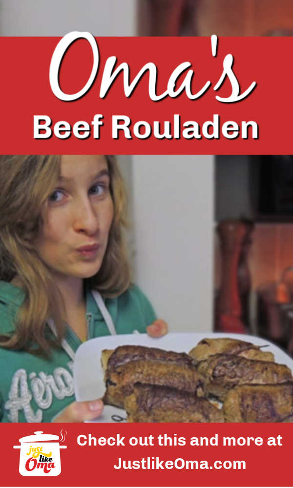 So traditional! German beef rouladen is such a delicacy! So many flavors in one!