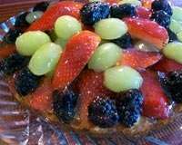 Berry Torte - uses fresh berries