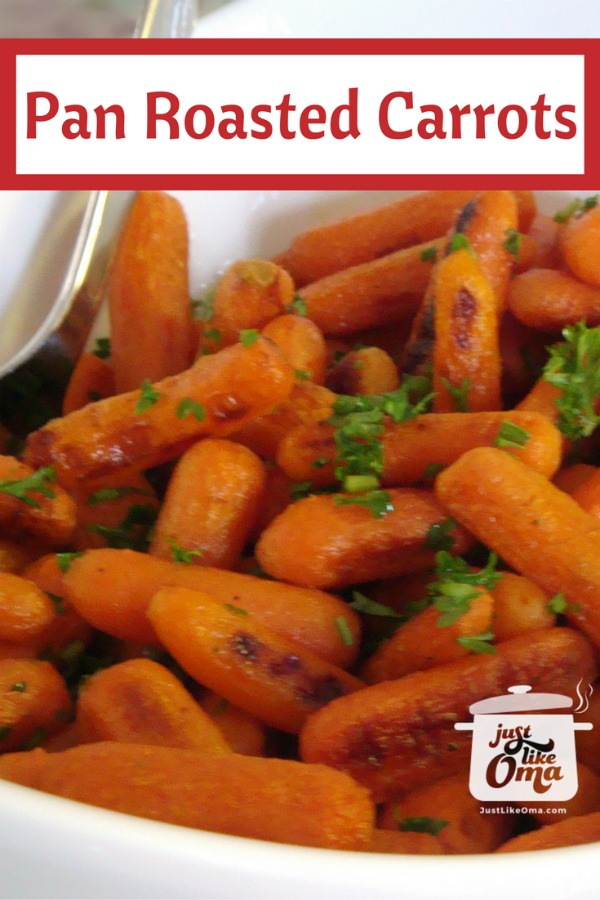 Here's an awesome carrot recipe ... just like my Mutti used to make. So good.