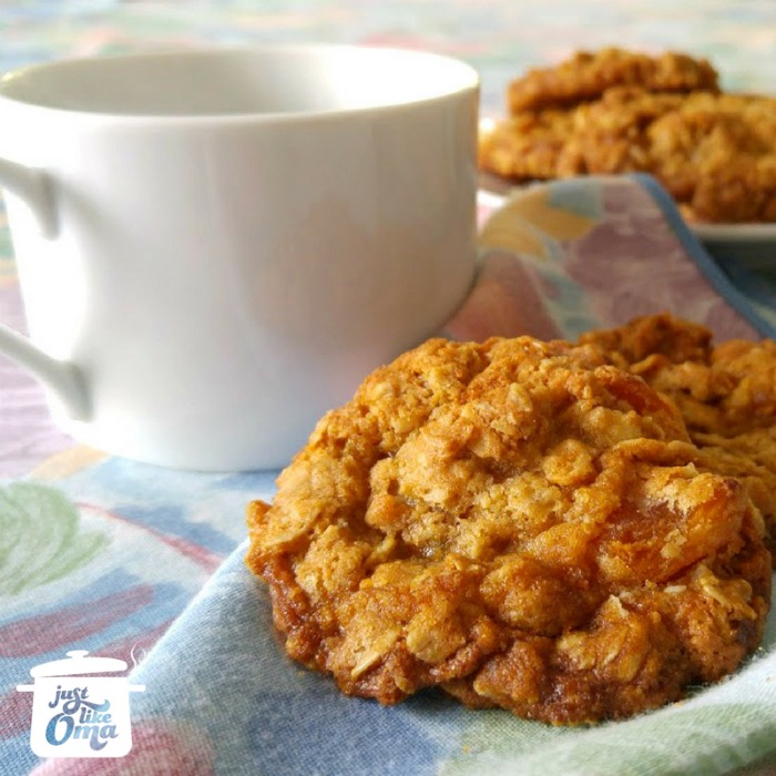 Oma's Best Oatmeal Cookie Recipe