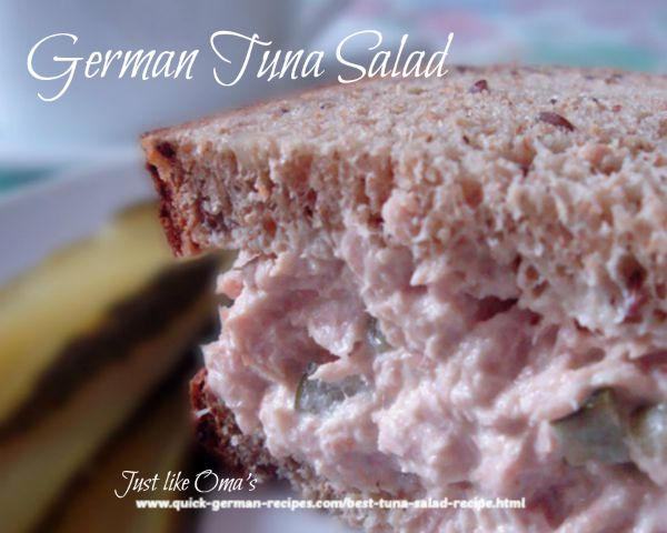 Best Tuna Salad - German-style