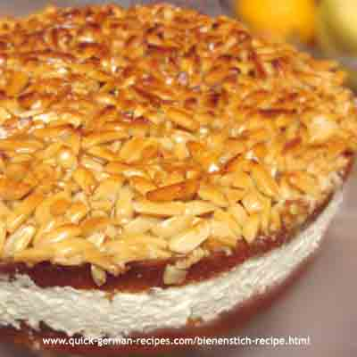 Bee Sting Cake (Bienenstich) Recipe — Dishmaps