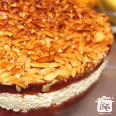Bienenstich Cake: Mike's birthday cake, a German
