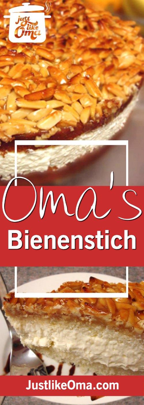 Bienenstich Cake: German