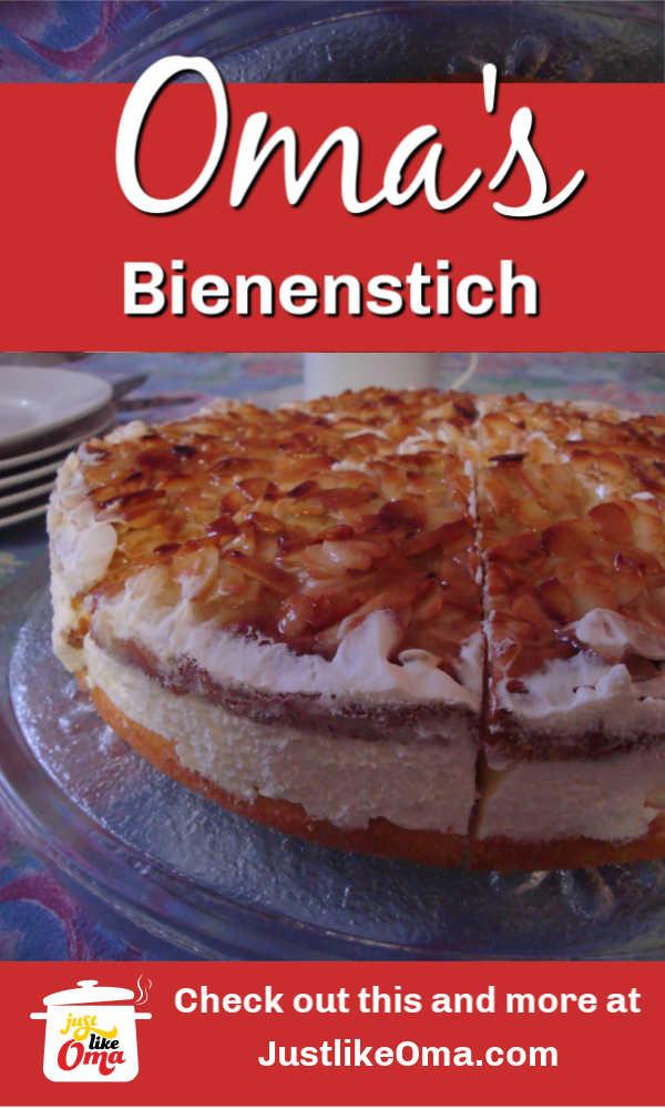 Wunderbar! Bienenstich Cake!