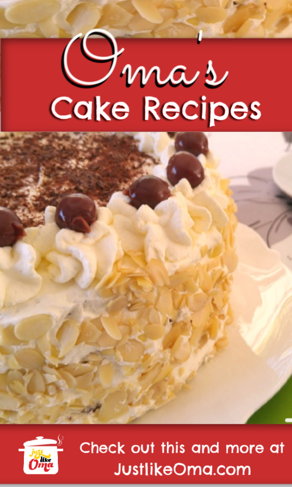 Check out the best of the best German cake recipes made Just like Oma! YUM