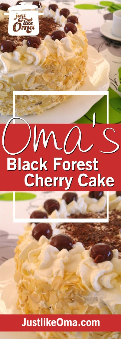 This traditional German Black Forest Birthday cake is so easy to make.  Recipe: https://www.quick-german-recipes.com/black-forest-cake-recipe.html