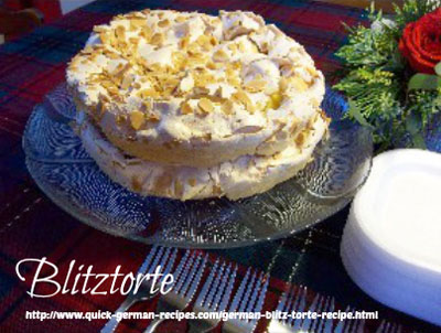 German Cake Recipes: Blitztorte