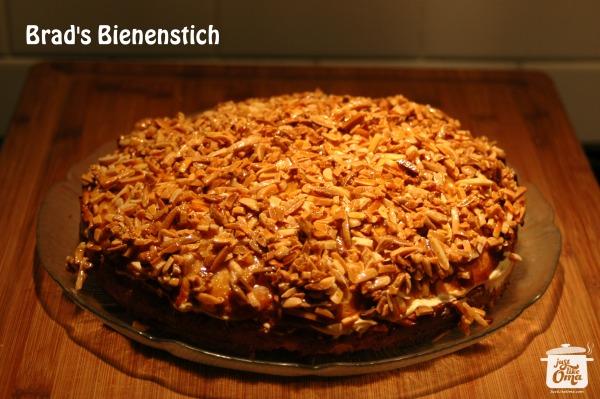 Chris' Bienenstich ... German Bee Sting Cake ... so Wunderbar!