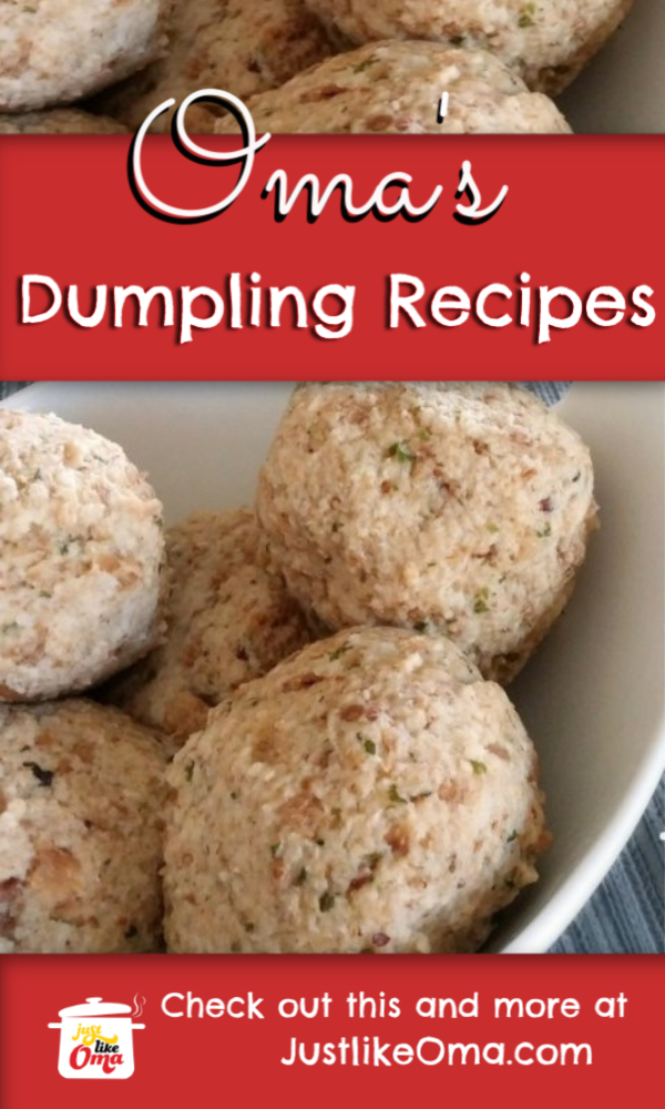 Scrumptious German Bread Dumplings! Fluffy, fun, and traditional.