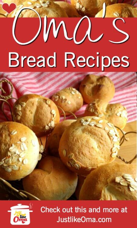 ❤️ Make all the German bread and brötchen you've been missing. Make just like Oma! https://www.quick-german-recipes.com/german-bread-recipes.html #germanrecipes #justlikeoma #germanbread
