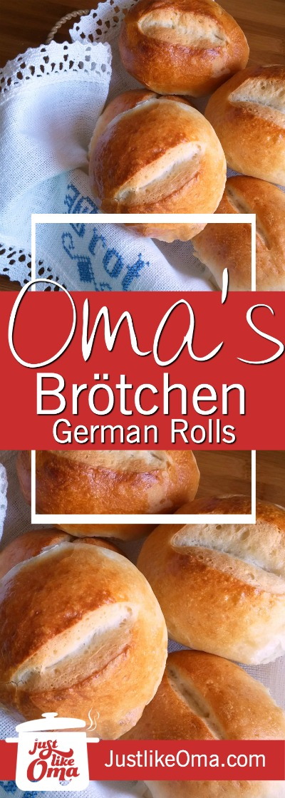 German Bread Rolls aka Brötchen are the BEST thing next to sliced bread! ❤️ Check out https://www.quick-german-recipes.com/bread-rolls-recipe.html  PIN now and bake later!
