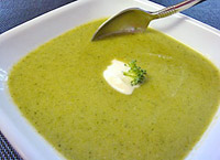 Broccoli Soup - so yummy!