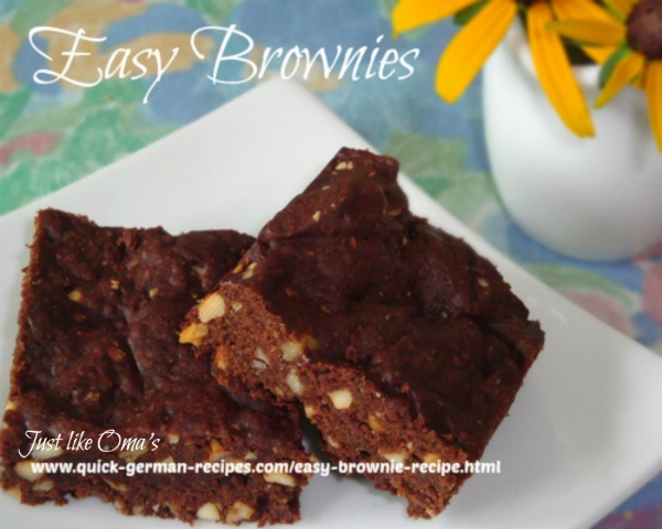 Brownies - easy chocolate goodness!