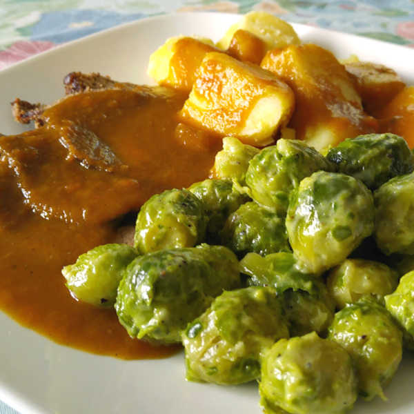 Quick Brussel Sprouts Recipes made Just like Oma