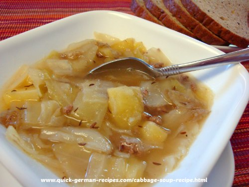 Cabbage Soup - German comfort food at its best!
