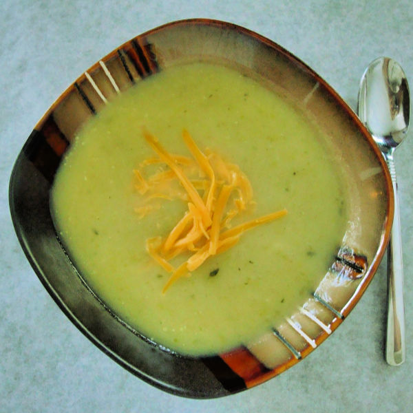 Creamy Celery Soup without the cream