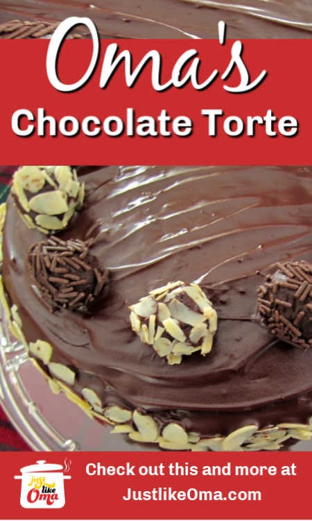 ❤️ REAL German Chocolate Cake -- Schokoladentorte, made just like Oma