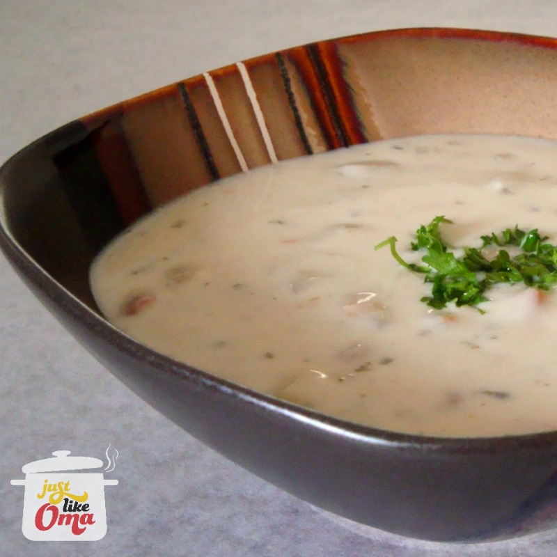 World's best clam chowder? This one! ❤️ Check out https://www.quick-german-recipes.com/best-clam-chowder-recipe.html for the recipe!